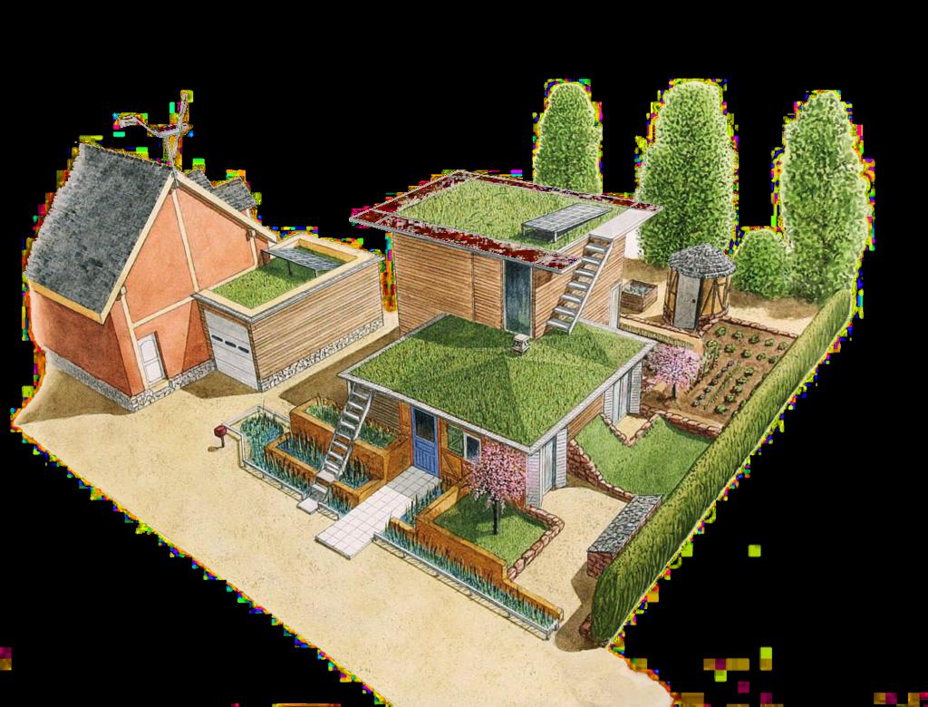 Pierre-GillesBellin - L'habitat bio-économique prototype Arca Minore